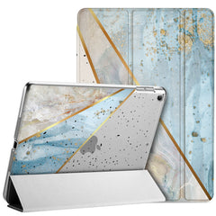 Lex Altern Apple iPad Case Blue Geometry