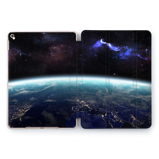 Lex Altern Cosmic Lights Case for your Apple tablet.