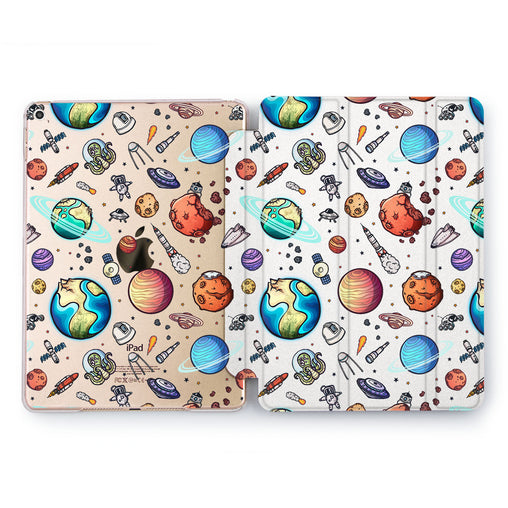 Lex Altern Space Pattern Case for your Apple tablet.