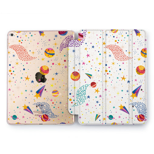Lex Altern Falling Stars Case for your Apple tablet.