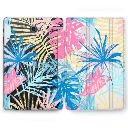 Lex Altern Jungle Leaves Case for your Samsung Galaxy tablet.