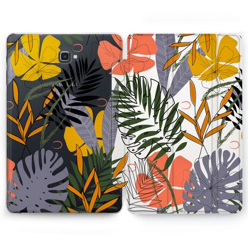 Lex Altern Monstera Plants Case for your Samsung Galaxy tablet.