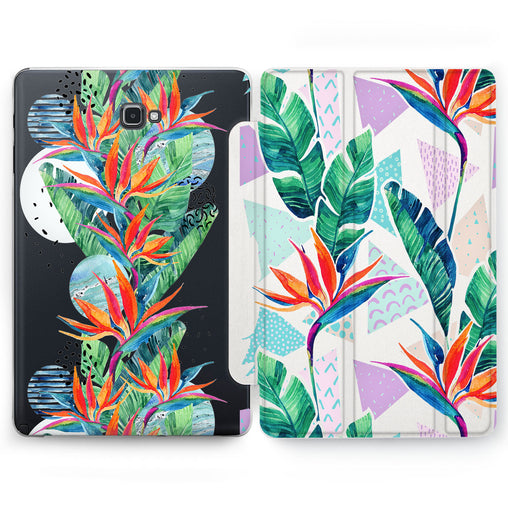 Lex Altern Strelitzia Grow Case for your Samsung Galaxy tablet.