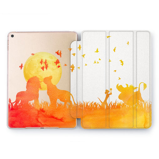 Lex Altern Cartoon Silhouette iPad Case for your Apple tablet.