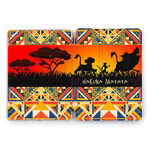 Lex Altern Boho Africa iPad Case for your Apple tablet.