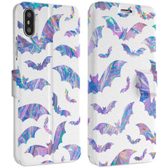 Lex Altern Iridescent Bat iPhone Wallet Case for your Apple phone.