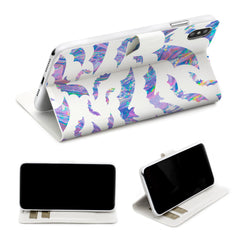 Lex Altern iPhone Wallet Case Iridescent Bat