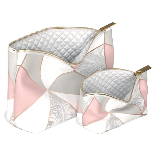 Lex Altern Makeup Bag Pink Triangles