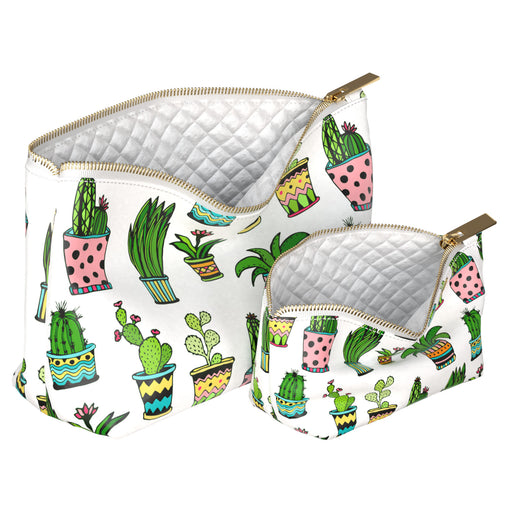 Lex Altern Makeup Bag Cactus Pattern
