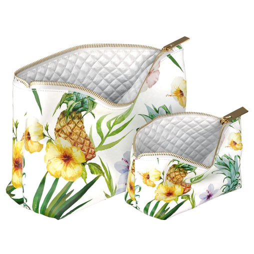 Lex Altern Makeup Bag Pineapples And Flowers