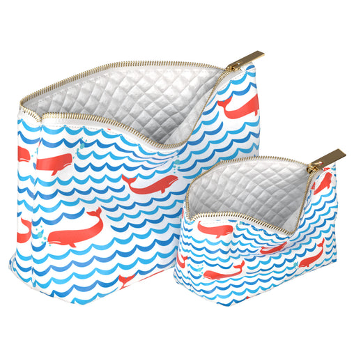 Lex Altern Makeup Bag Cute Whales