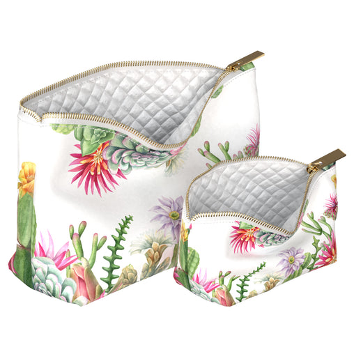Lex Altern Makeup Bag Succulent Flowers