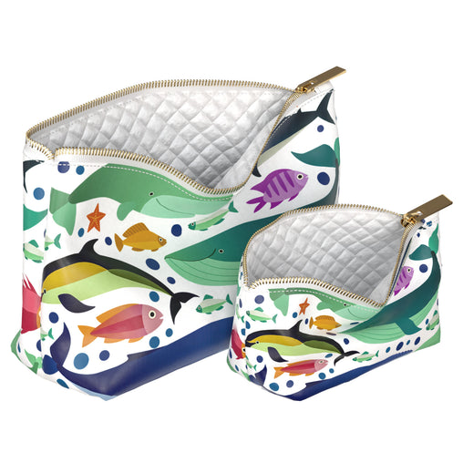 Lex Altern Makeup Bag Fish Pattern