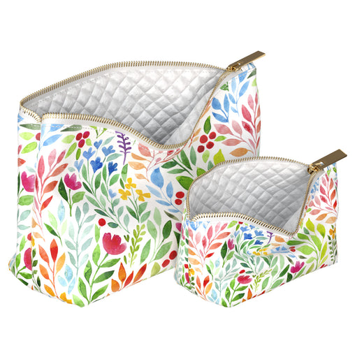 Lex Altern Makeup Bag Colorful Leaves
