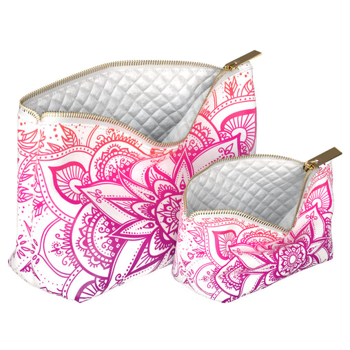 Lex Altern Makeup Bag Pink Mandala