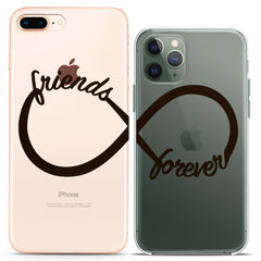 Lex Altern TPU Silicone Couple Case Friends Forever