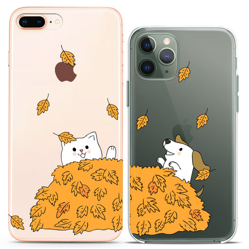 Lex Altern TPU Silicone Couple Case Autumn Animals
