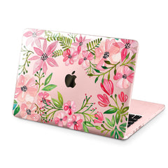 Lex Altern Hard Plastic MacBook Case Pink Flowers