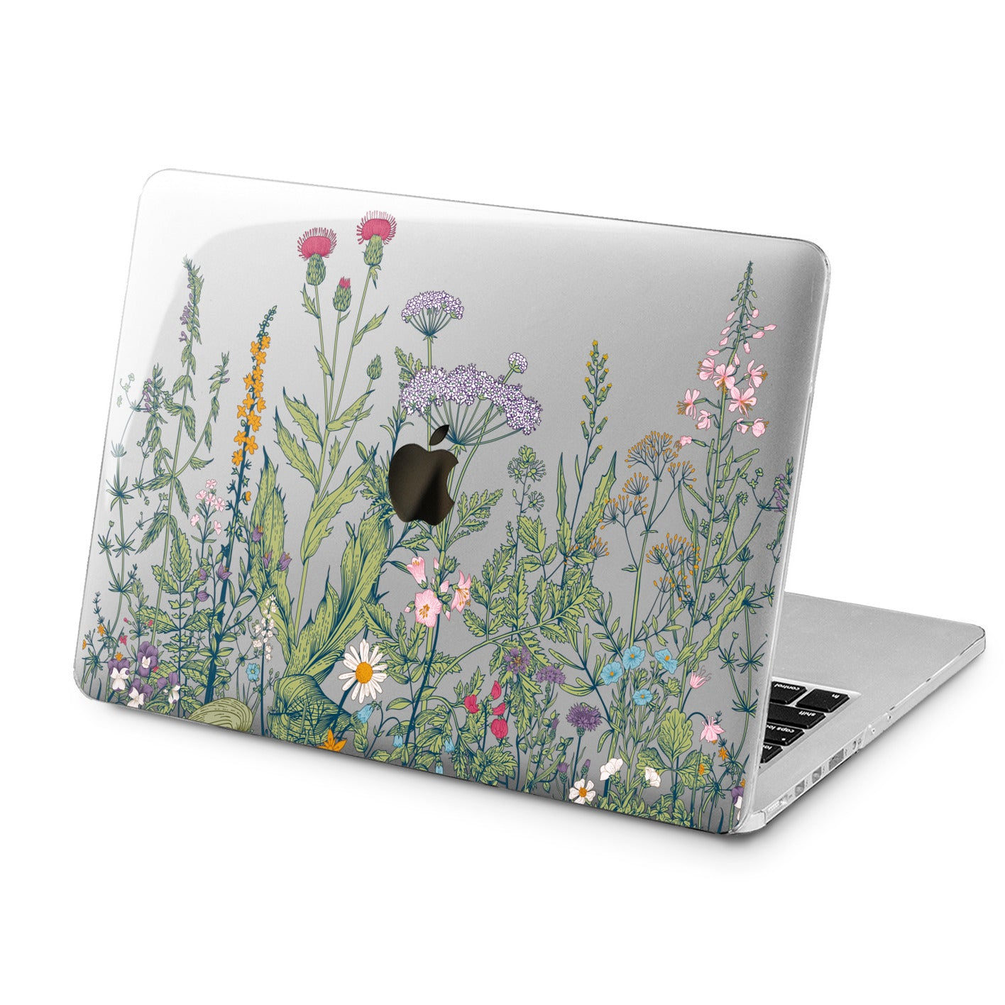 Lex Altern Lex Altern Wild Flowers Case for your Laptop Apple Macbook.
