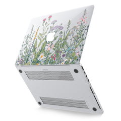 Lex Altern Hard Plastic MacBook Case Wild Flowers