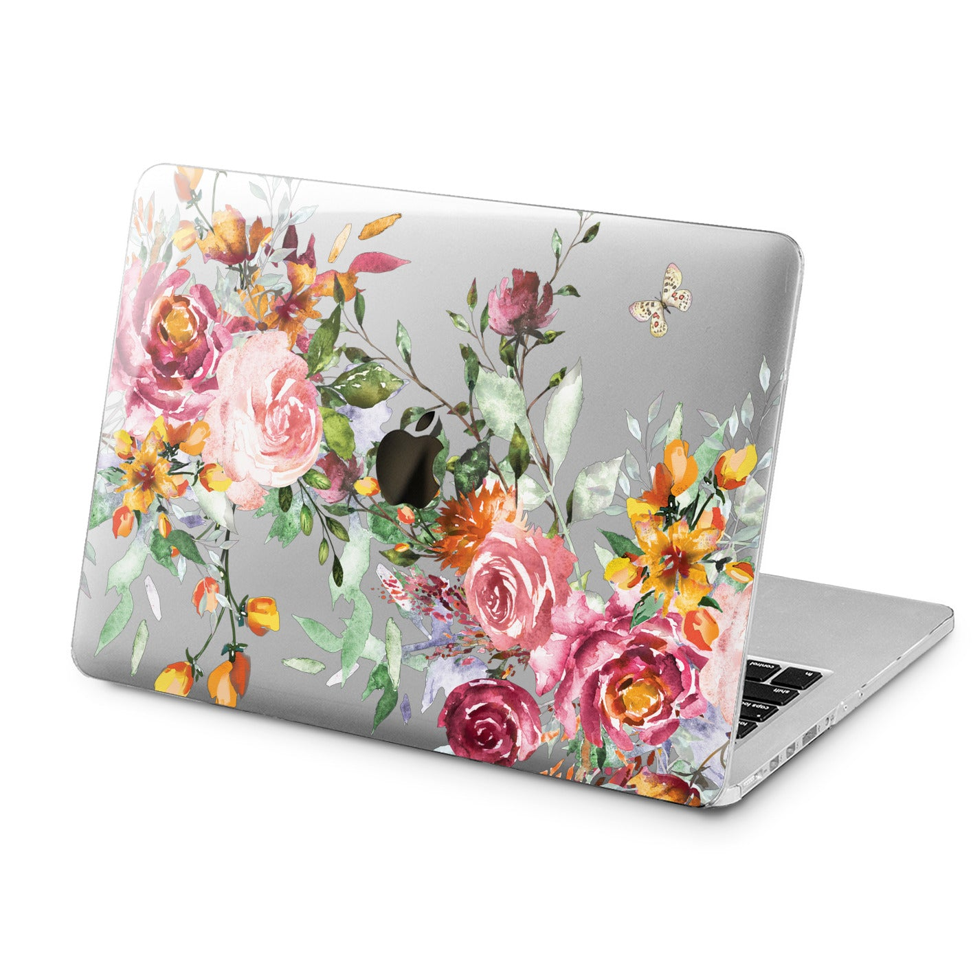 Lex Altern Lex Altern Roses Watercolor Case for your Laptop Apple Macbook.
