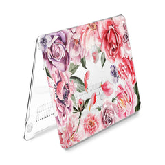 Lex Altern Hard Plastic MacBook Case Red Roses
