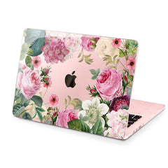 Lex Altern Hard Plastic MacBook Case Peony Flowers