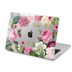 Lex Altern Lex Altern Peony Flowers Case for your Laptop Apple Macbook.
