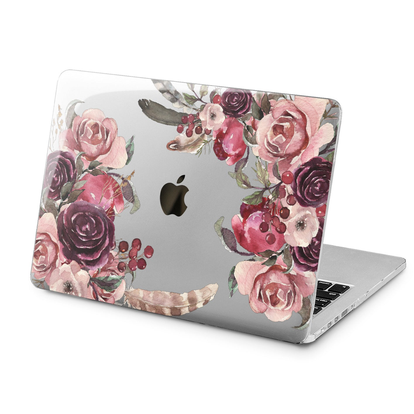 Lex Altern Lex Altern Purple Roses Case for your Laptop Apple Macbook.