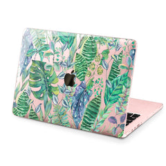 Lex Altern Hard Plastic MacBook Case Leaf Pattern