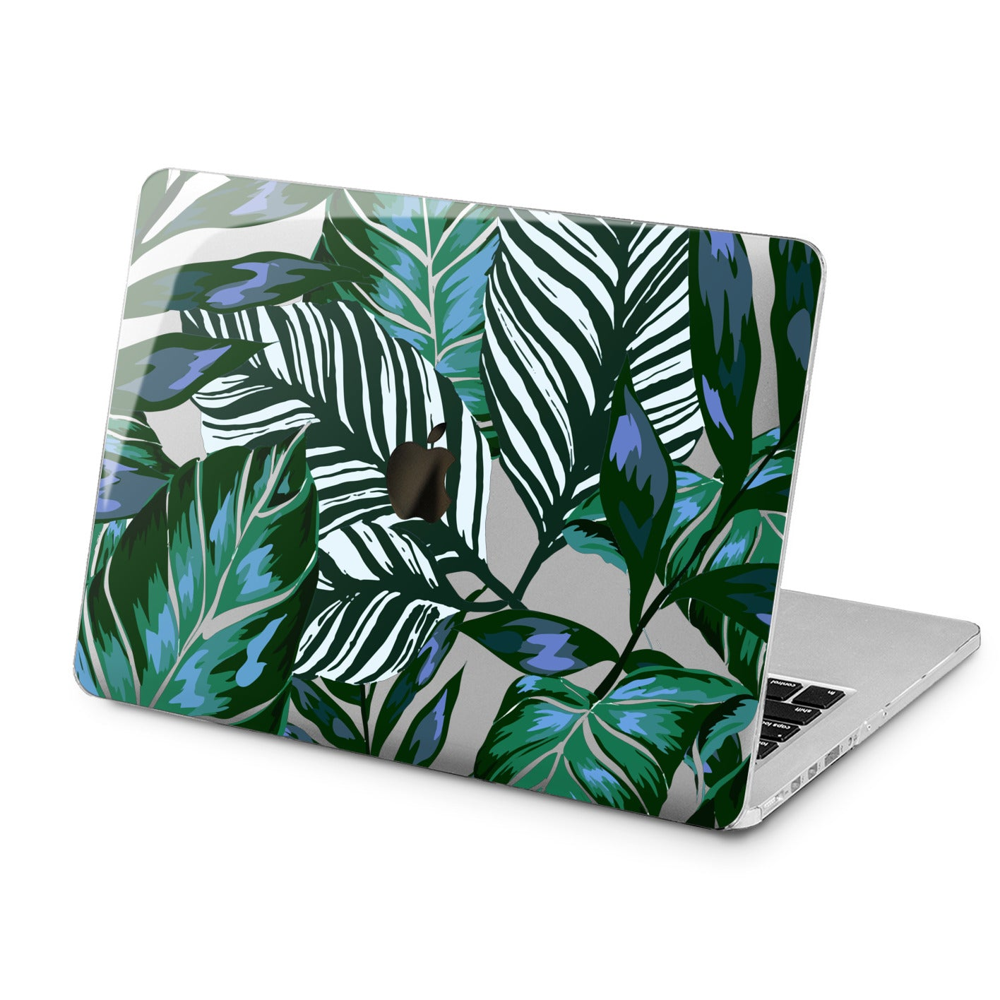 Lex Altern Lex Altern Painted Leaves Case for your Laptop Apple Macbook.