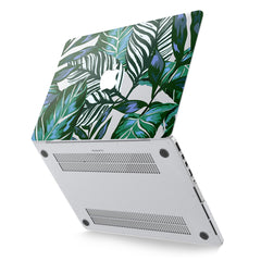 Lex Altern Hard Plastic MacBook Case Painted Leaves