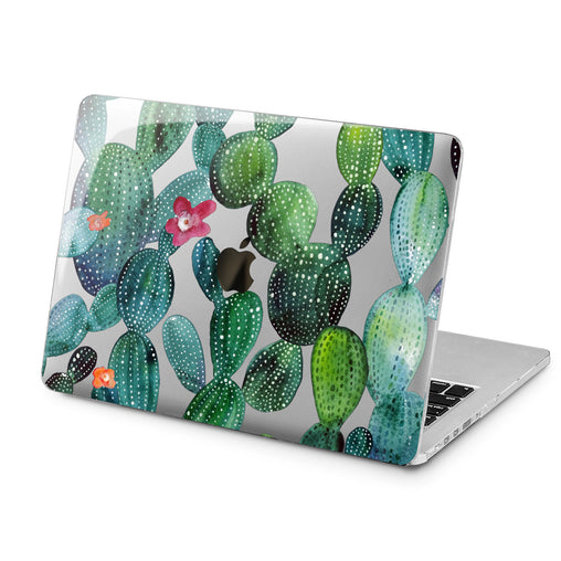 Lex Altern Lex Altern Cactus Pattern Case for your Laptop Apple Macbook.