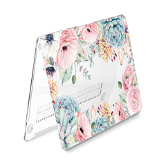 Lex Altern Hard Plastic MacBook Case Floral Succulents