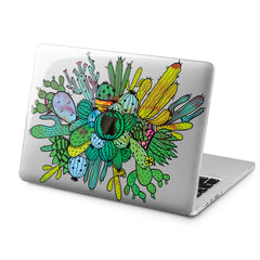Lex Altern Lex Altern Abstract Cactus Case for your Laptop Apple Macbook.