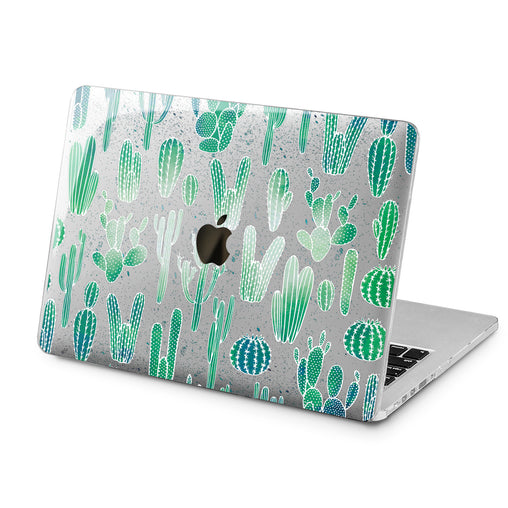 Lex Altern Lex Altern Cacti Pattern Case for your Laptop Apple Macbook.