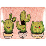 Lex Altern MacBook Glitter Case Kawaii Cactus