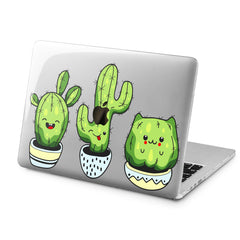 Lex Altern Lex Altern Kawaii Cactus Case for your Laptop Apple Macbook.