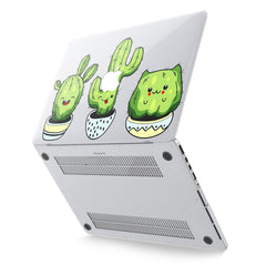 Lex Altern Hard Plastic MacBook Case Kawaii Cactus