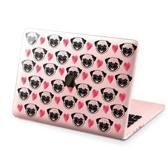 Lex Altern Hard Plastic MacBook Case Pug Pattern