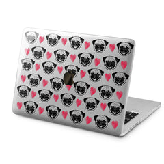 Lex Altern Lex Altern Pug Pattern Case for your Laptop Apple Macbook.