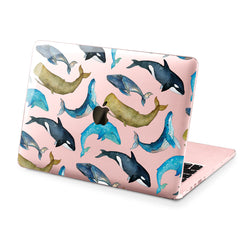 Lex Altern Hard Plastic MacBook Case Whale Pattern