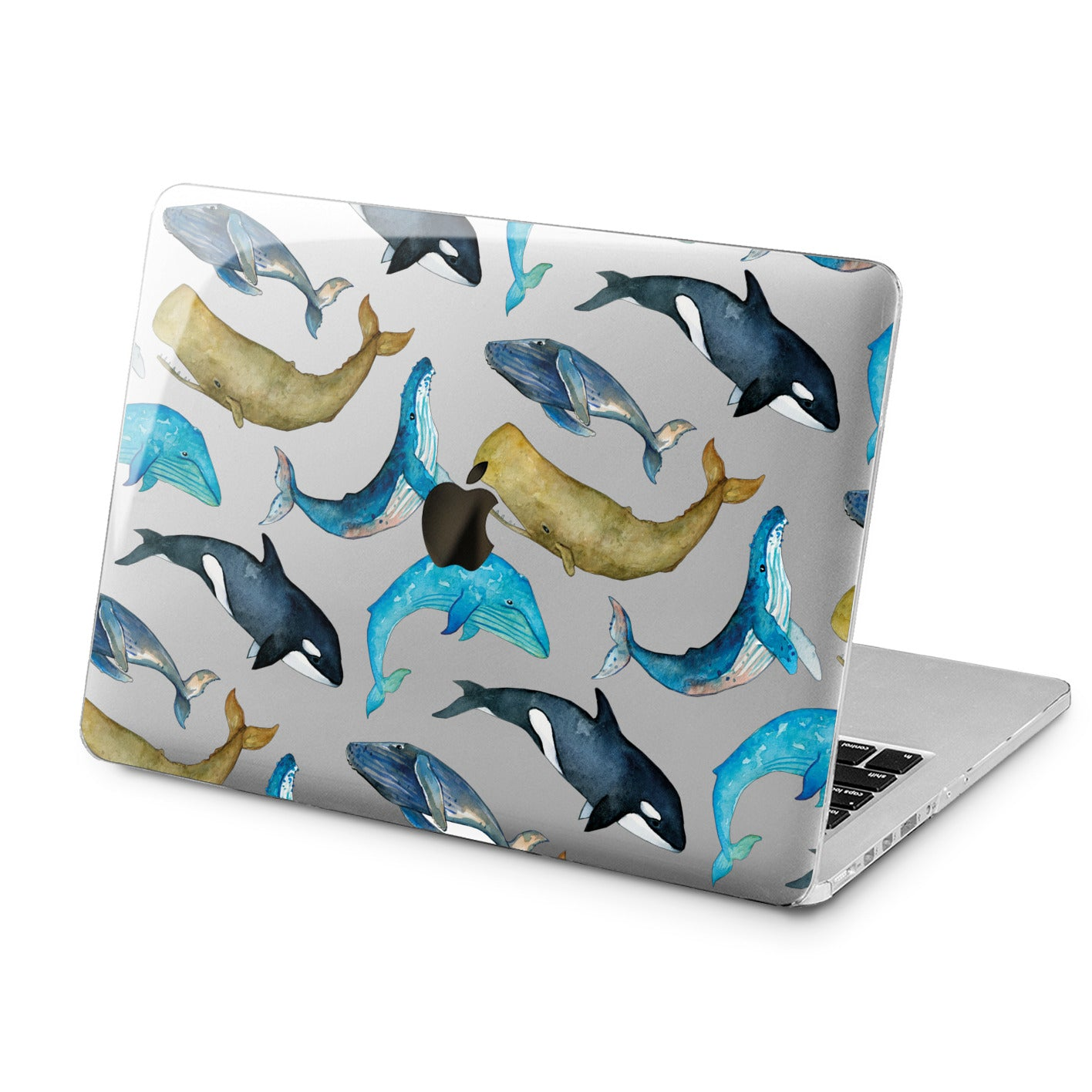 Lex Altern Lex Altern Whale Pattern Case for your Laptop Apple Macbook.