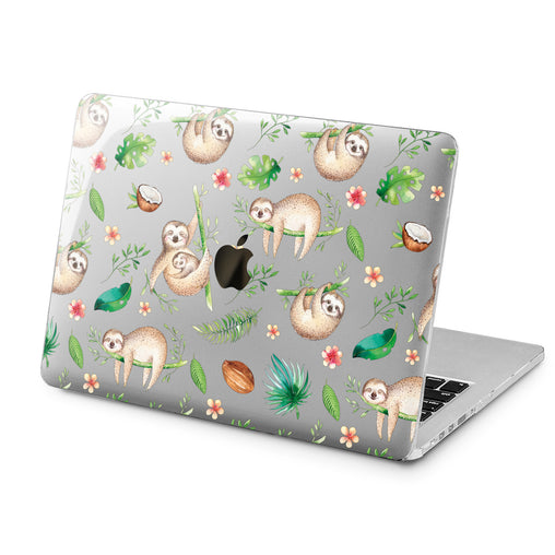 Lex Altern Lex Altern Tropical Sloth Case for your Laptop Apple Macbook.