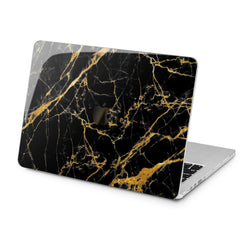 Lex Altern Lex Altern Golden Black Marble Case for your Laptop Apple Macbook.