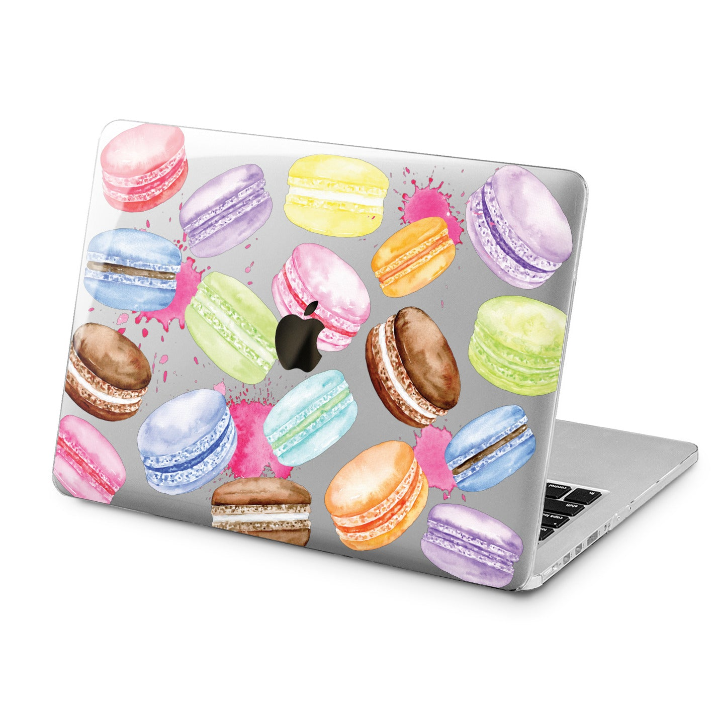 Lex Altern Lex Altern Macaroon Cookies Case for your Laptop Apple Macbook.