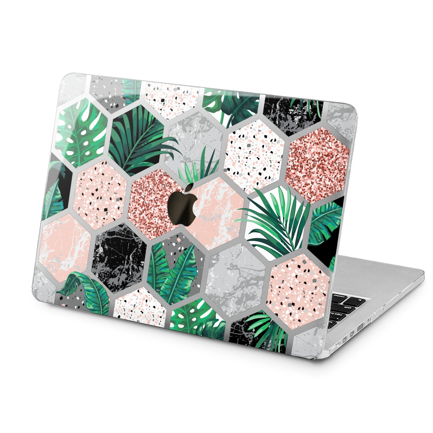 Lex Altern Lex Altern Marble Combs Case for your Laptop Apple Macbook.