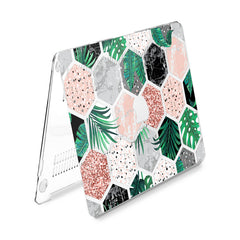 Lex Altern Hard Plastic MacBook Case Marble Combs