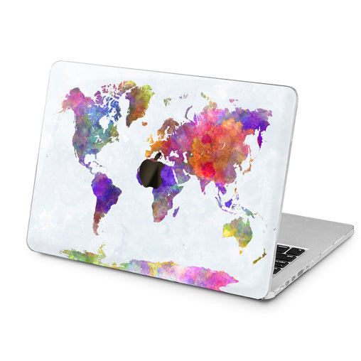 Lex Altern Lex Altern Abstract Map Case for your Laptop Apple Macbook.