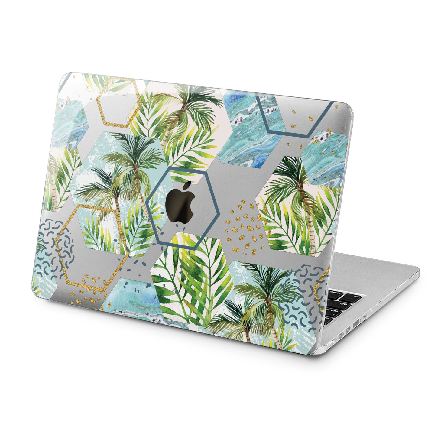 Lex Altern Lex Altern Abstract Palms Case for your Laptop Apple Macbook.